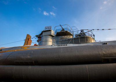 U-Boot Denkmal am Strand von Laboe