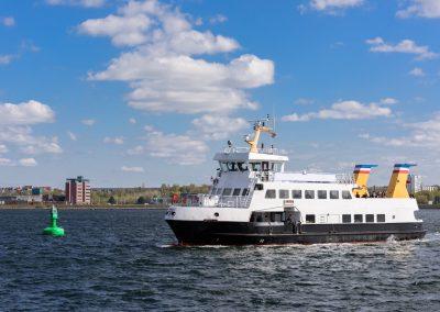 Passagierschiff der Fördefährlinie Kiel